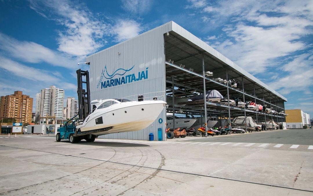 Marina Itajaí tem vagas para barcos a partir de R$550