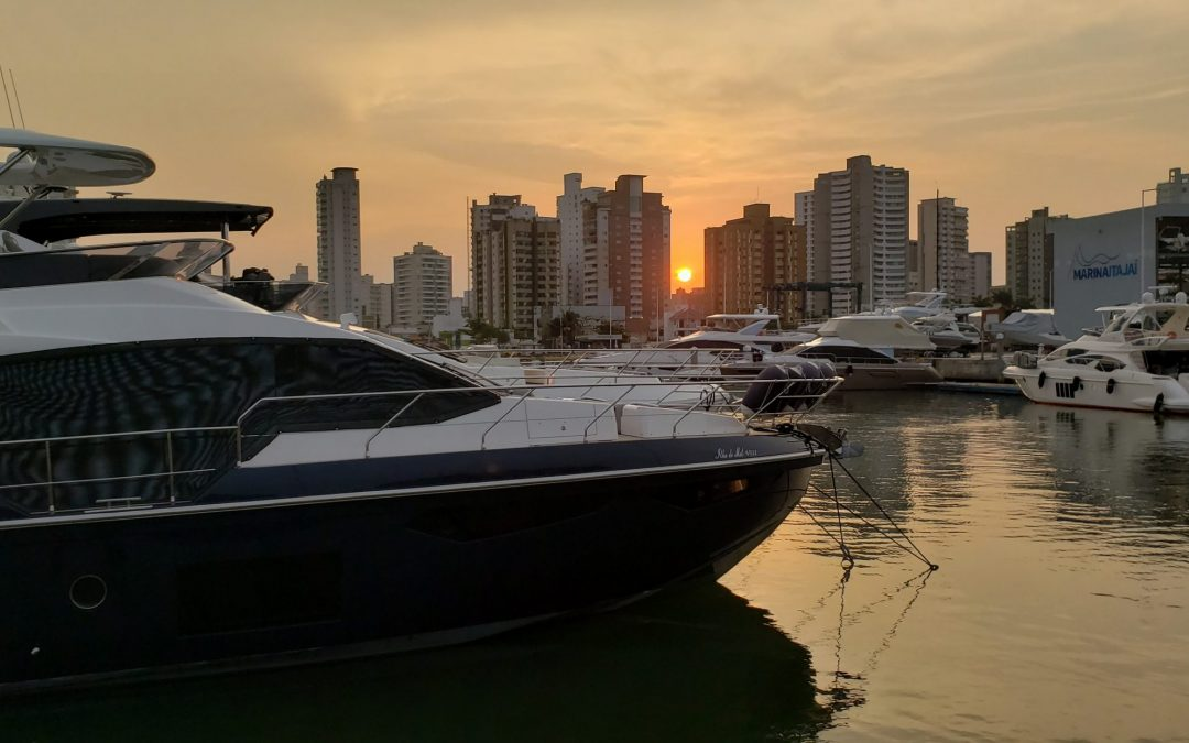 Abertas as reservas de vagas para embarcações no verão em Santa Catarina