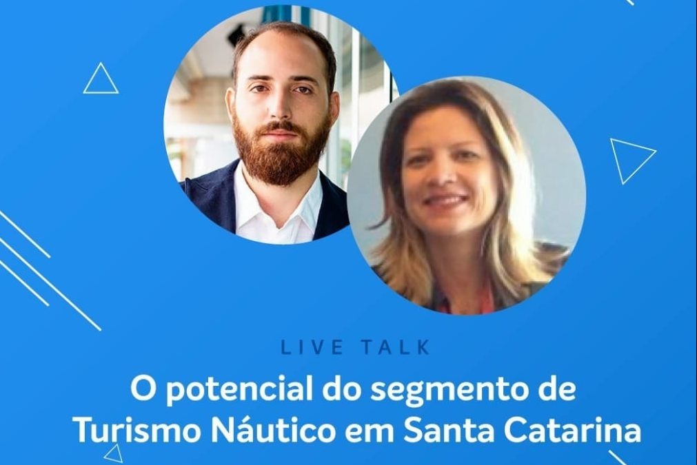 Entrevista on-line discute sobre o turismo náutico catarinense nesta terça-feira, 9